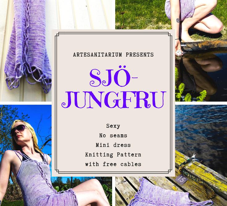 Sjöjungfru Dress Knitting Pattern