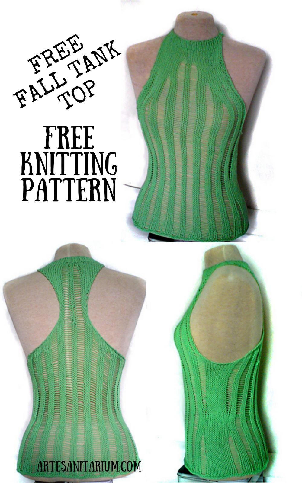 Free Fall Top – Free Knitting Pattern